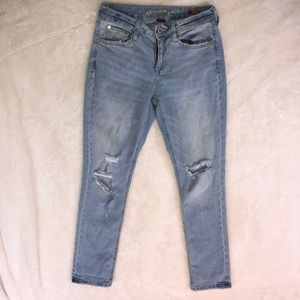 Arizona Jean Co. Distressed Boyfriend Jeans